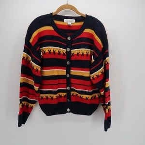 Anthropologie Cambridge Buttons Cardigan Sweater